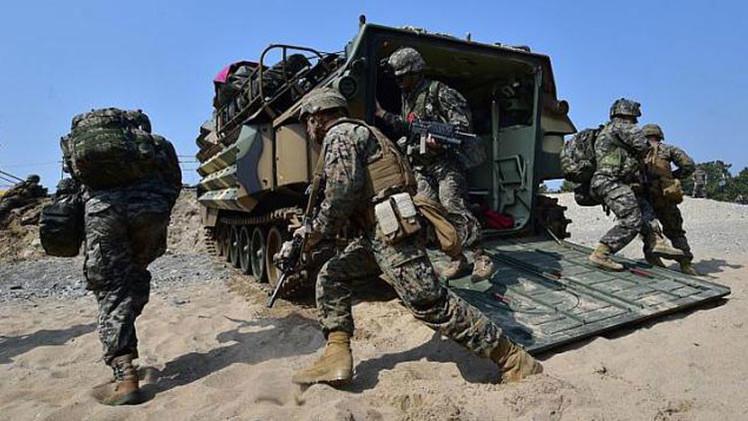 Video: Miles de soldados de EE.UU. y Corea del Sur realizan las mayores maniobras conjuntas