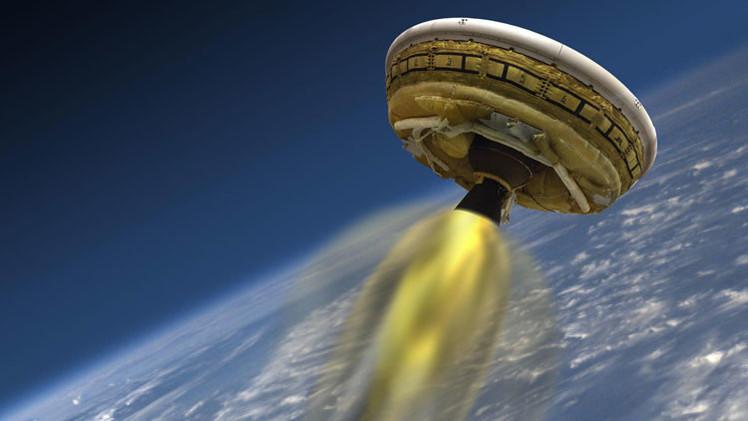 Video: La NASA pone a prueba  el 'platillo volador'