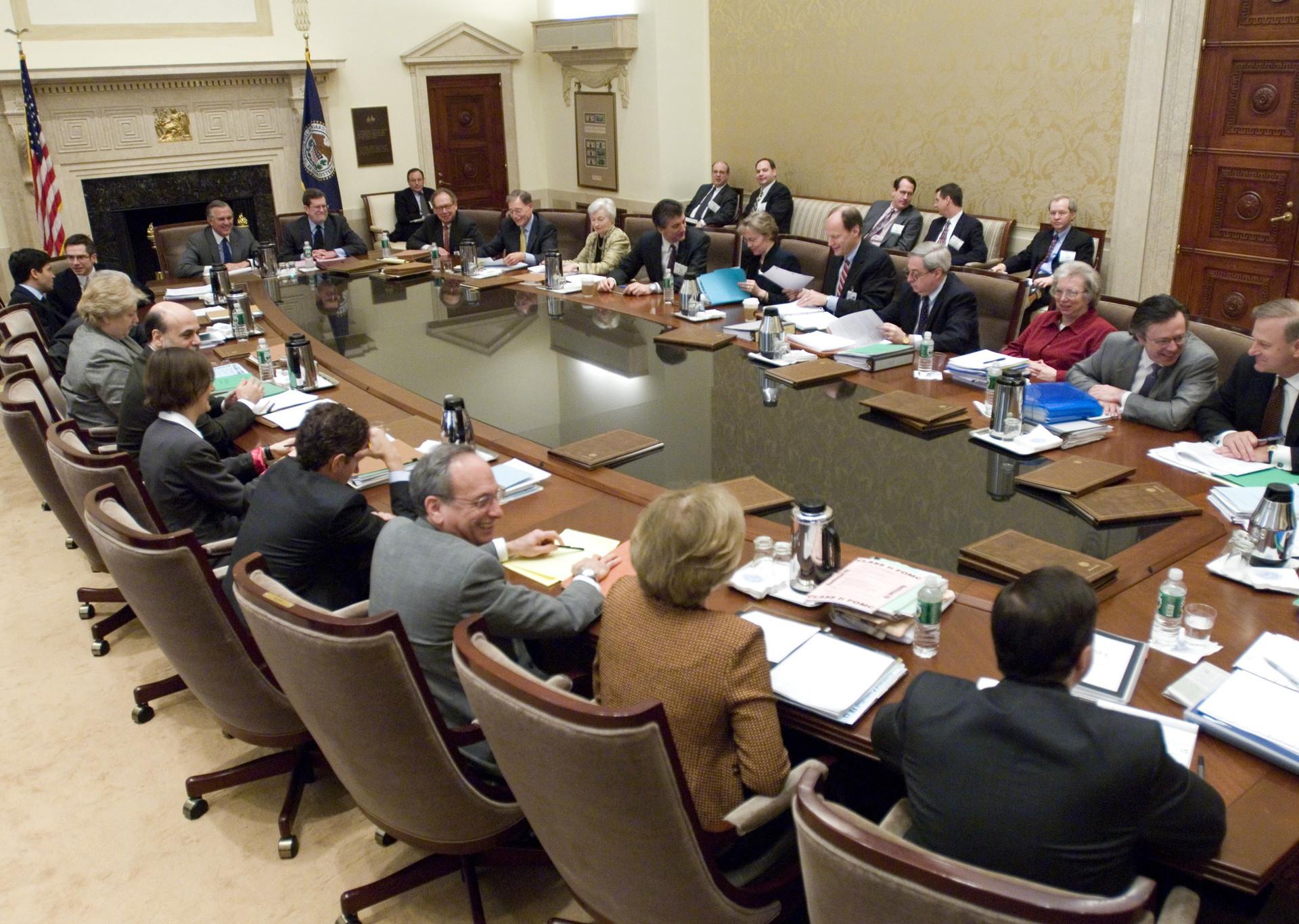 La sesión de FOMC