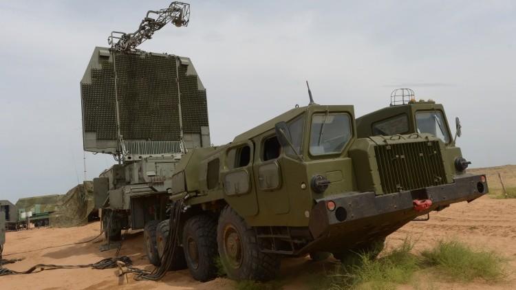Sistema de lanzamiento de misiles S-300PM, maniobras en el sur de Rusia