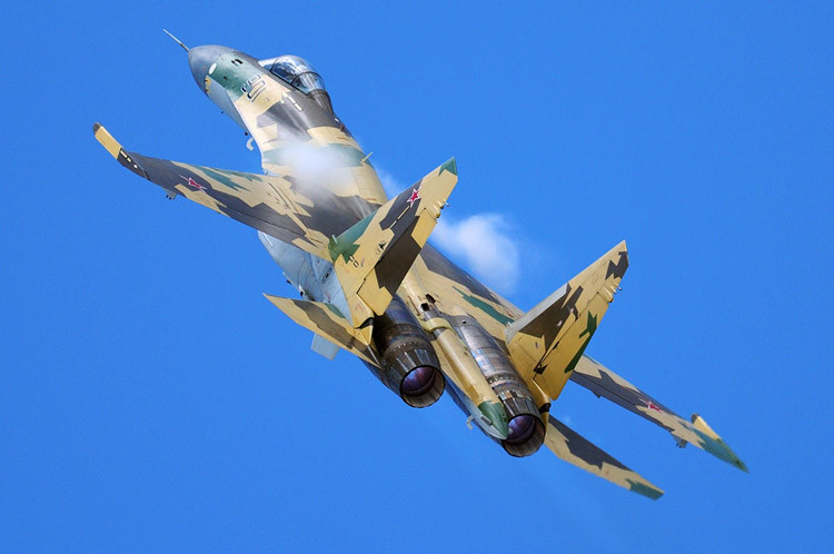 Sukhoi Su-35, Russia - Air Force