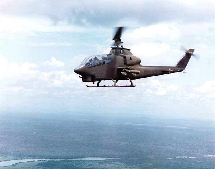 Bell AH-1G over Vietnam
