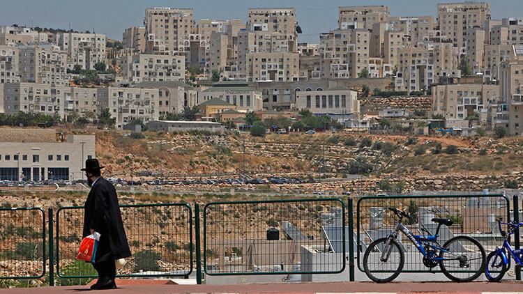 Asentamiento Modiin Illit en Palestina