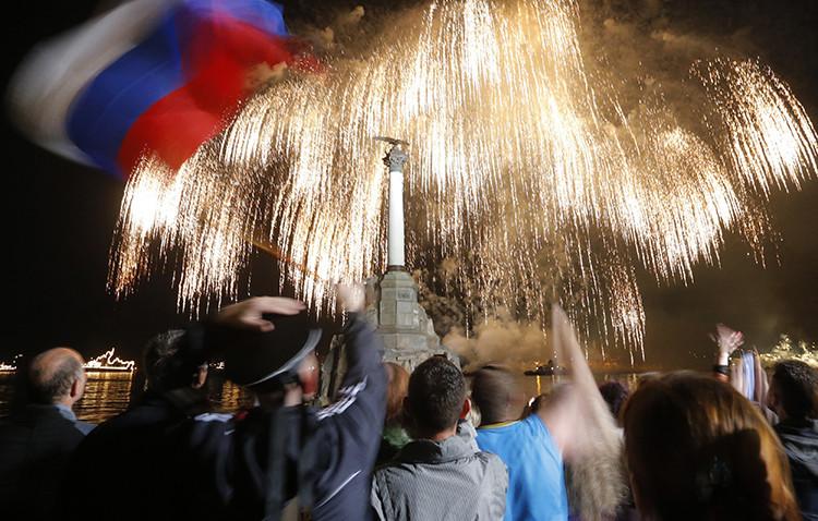 Crimea celebra el Día de la Victoria, 9 de mayo de 2014