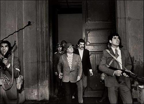 Allende defiende La Moneda, 11 de septiembre de 1973