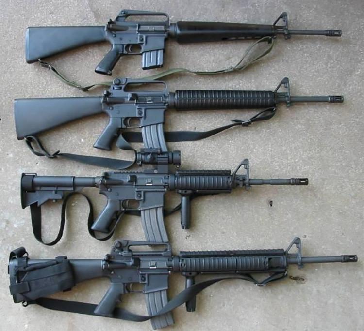 Fusil de asalto estadounidense M-16