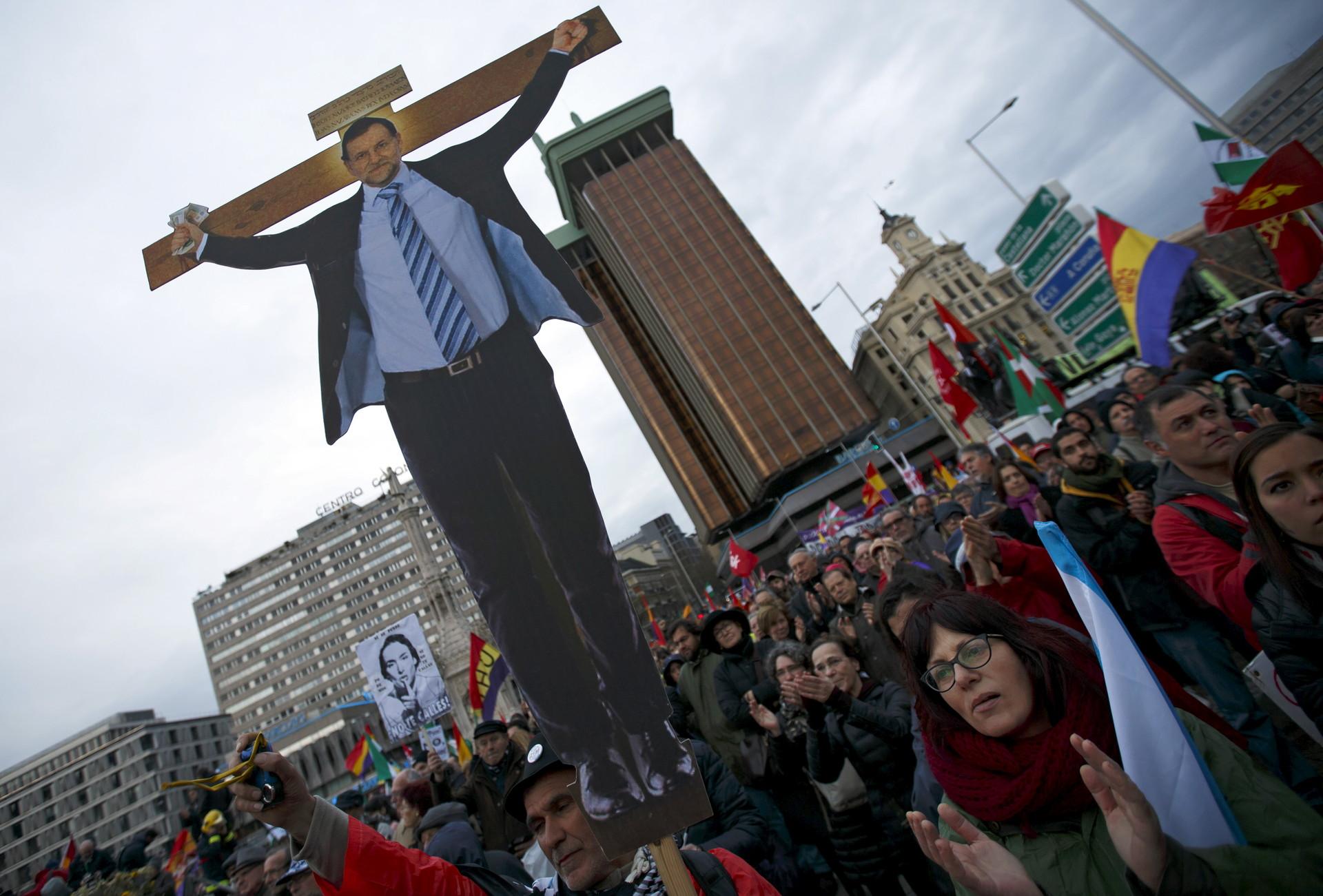 La Marcha de la Dignidad toma Madrid