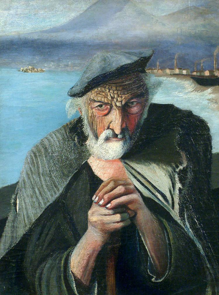Resultado de imagen de rostros de viejos pescadores