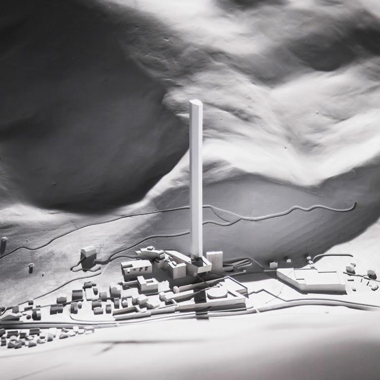 """FOTOS: Un rascacielos """"transparente"""" se incorporará al paisaje de Suiza"""