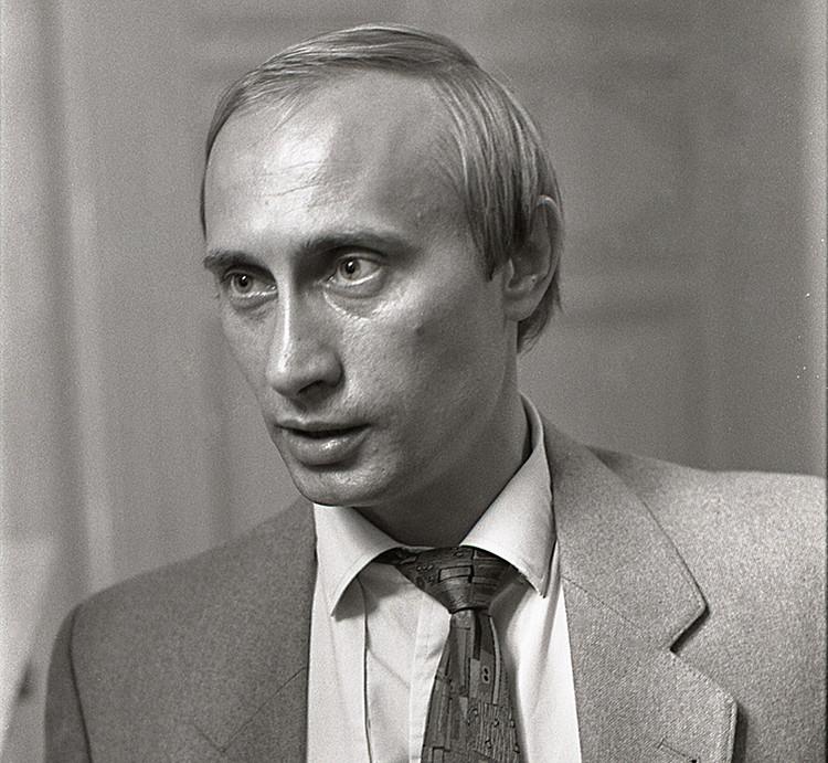 Vladímir Putin juventud