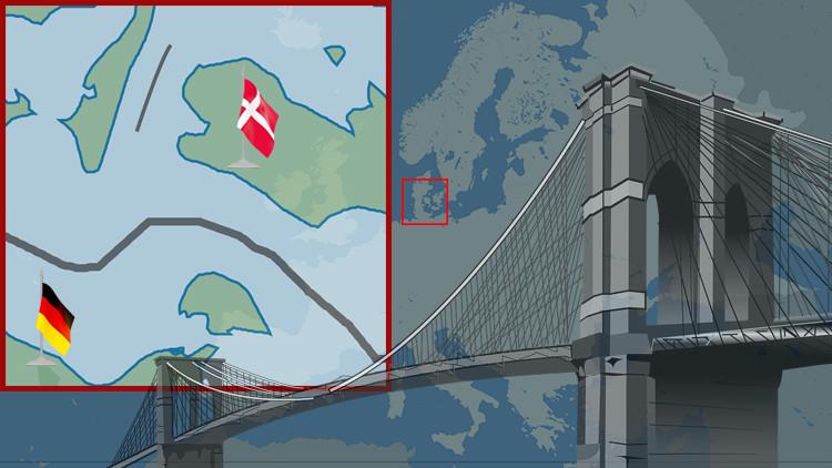 Mapa: El proyecto bajo el agua que cambiará la geografía de Europa