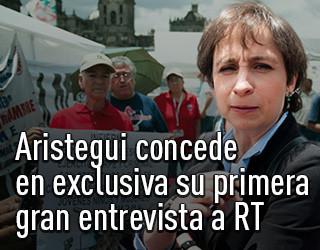 Carmen Aristegui concede en exclusiva su primera gran entrevista a RT