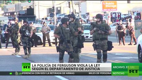La Policía de Ferguson