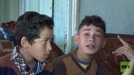 Miles de niños palestinos viven traumatizados por los ataques en espera de ayuda