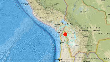 Un sismo de magnitud 6.4 sacude Chile