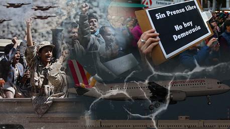 Balance semanal: Catástrofe de A320, guerra en Yemen y otros acontecimientos clave