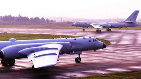 China publica fotos de nuevos bombarderos