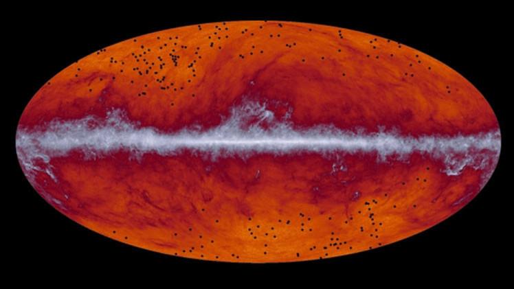 Descubren agrupaciones de galaxias más antiguas y lejanas de la Tierra