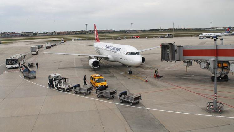 Amenaza de bomba en un avión de Turkish Airlines, tercer caso en 5 días