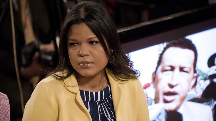 La hija de Chávez debuta en la ONU con motivo de críticas a sanciones de EE.UU.