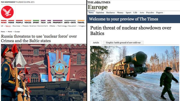 "Kremlin: ""La prensa occidental primero demoniza a Rusia y luego la teme"""