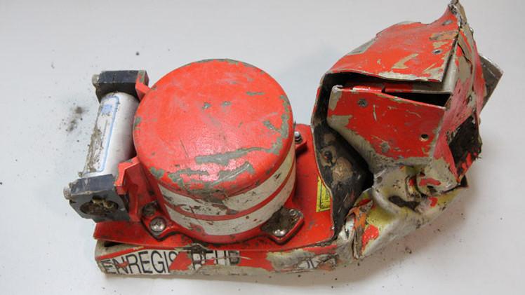 Encuentran la segunda caja negra del avión siniestrado de Germanwings