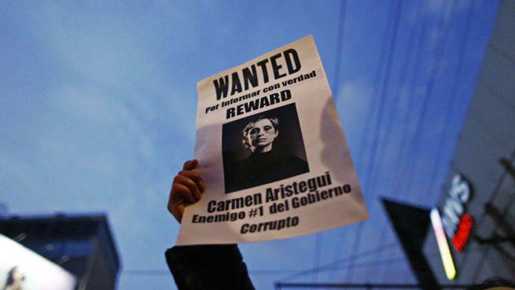 """""""Se puede despedir a Aristegui, pero no al periodismo de investigación"""""""