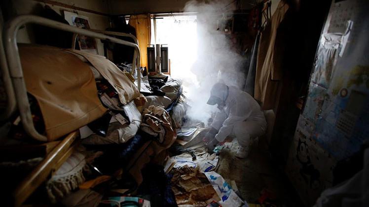 Fotos únicas: Cómo limpian los hogares de fallecidos solitarios en Japón