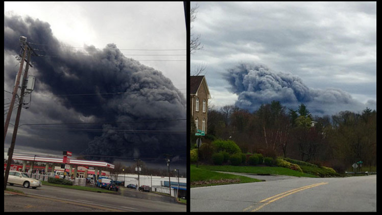 EE.UU.: Gran incendio en la planta de General Electric en Kentucky