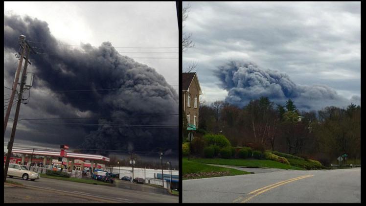 EE.UU.: Gran incendio en la planta de General Electric en Kentucky