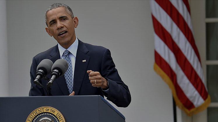 Oleada de selfis ante el televisor en Irán durante el discurso en directo de Obama