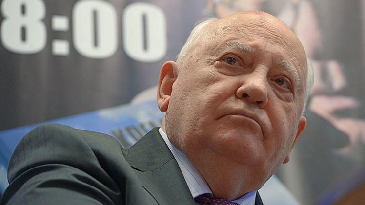 """Gorbachov: """"Estados Unidos necesita una perestroika"""""""