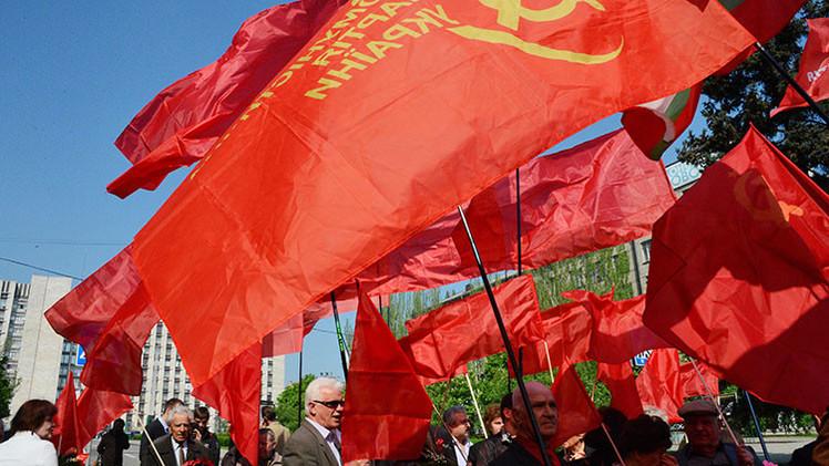 Ucrania planea prohibir la ideología comunista antes del 9 de mayo