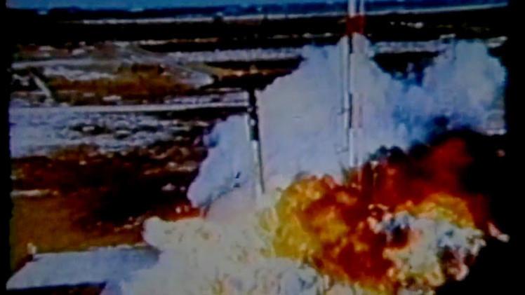 Video espectacular de lanzamientos fallidos de la NASA