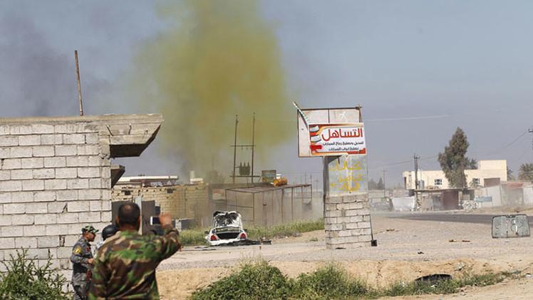El Estado Islámico utiliza armas químicas contra el Ejército en Irak