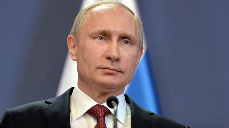 Putin está liderando la votación de políticos mejor valorados de 'Time'