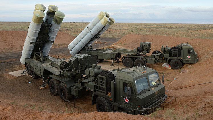 Nuevo misil duplica alcance del sistema ruso S-400 Triumf