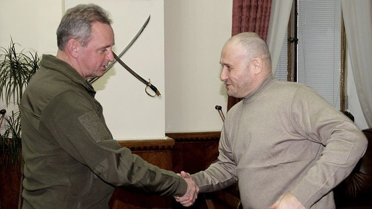 Ucrania nombra asesor del Estado Mayor al líder del partido últranacionalista Sector Derecho
