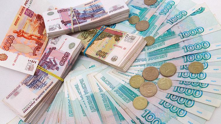 """Bloomberg: """"El rublo es ahora la mejor moneda del mundo"""""""