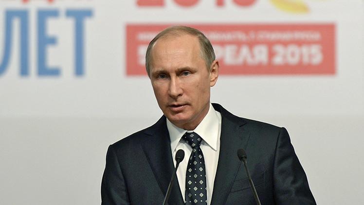 Putin: No es posible modificar la historia dependiendo de la coyuntura política