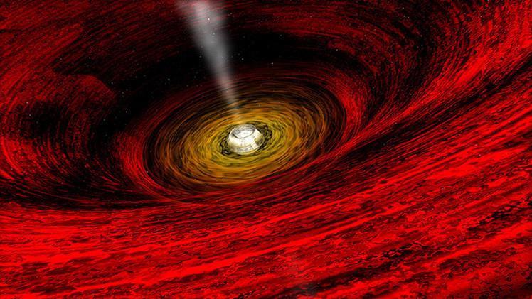 Científicos creen posible 'asomarse' al interior de un agujero negro