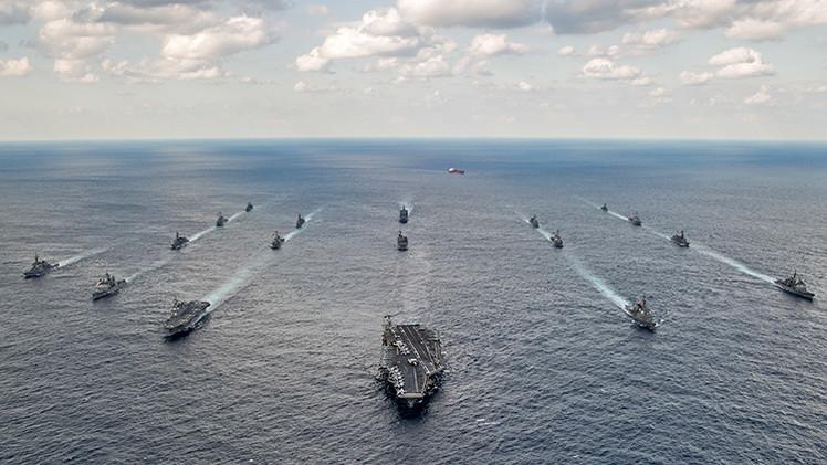 EE.UU. planea basar el 60% de su flota de guerra en el Asia-Pacífico