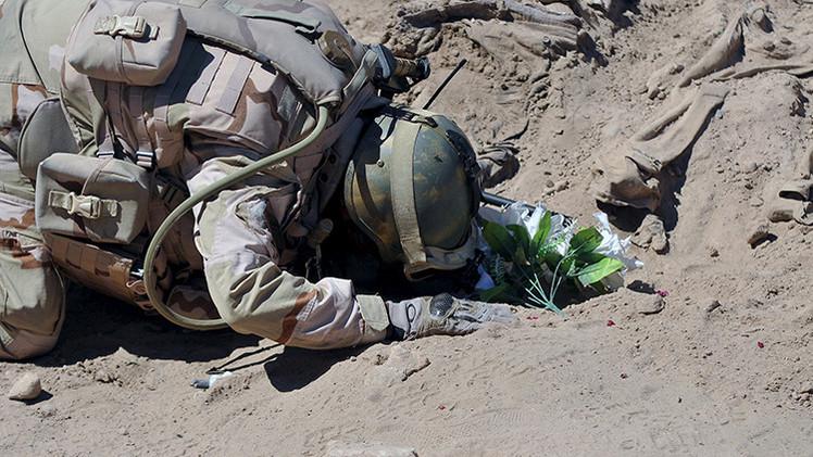 Fotos: Hallan en Irak fosas con 1.700 soldados chiítas asesinados por el Estado Islámico