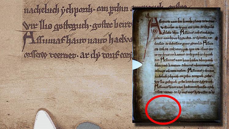 Hallan rostros fantasmagóricos y poemas secretos en un manuscrito del siglo XIII