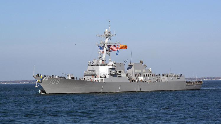 El destructor estadounidense Jason Dunham se dirige a la costa de Ucrania