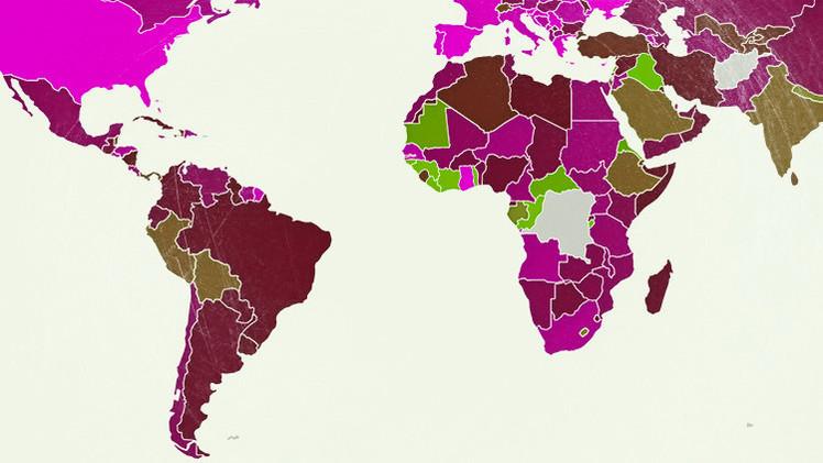 Mapa: ¿Cuáles son los países más endeudados del mundo?
