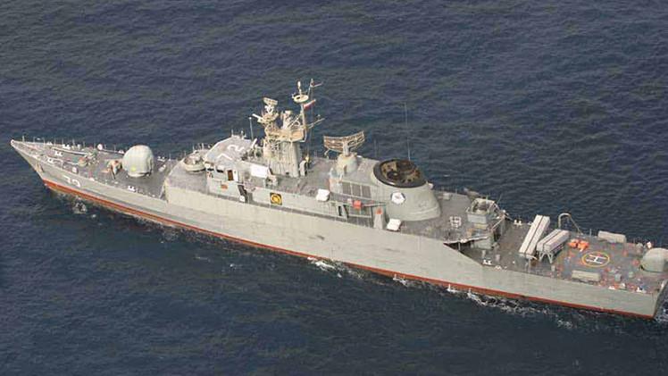 Irán envía un destructor a las costas de Yemen