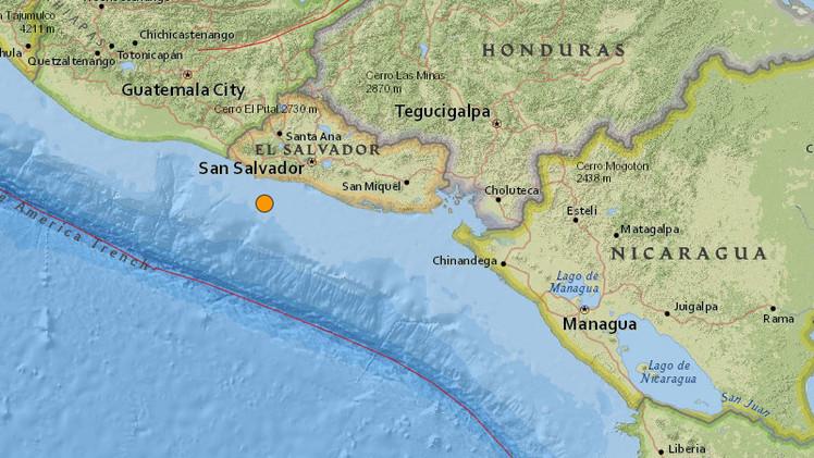 Un sismo de magnitud 5,3 se registra en El Salvador