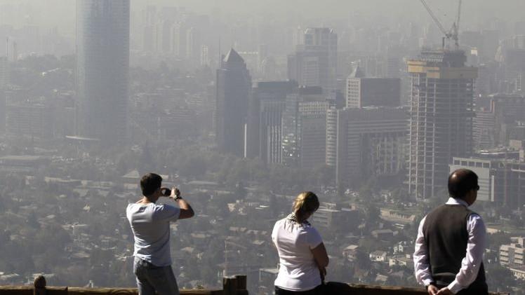 Chile declara una alerta sanitaria por la contaminación del aire