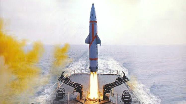 La India prueba con éxito un misil naval con capacidad nuclear